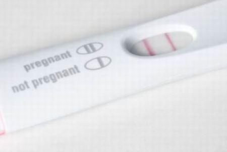 Положительный тест на беременность