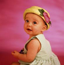 Одеваем пятимесячного ребенка летом
