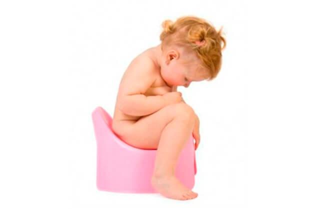 грудной ребенок не ходит в туалет: