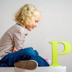 как научить ребенка букве р