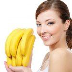 маска из бананов разглаживает морщины