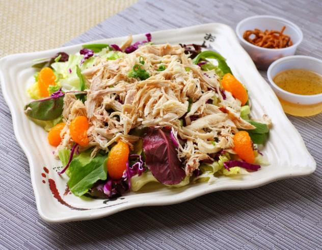 новогодний салат без майонеза охотничий