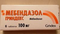 Мебендазол - таблетки для детей от глистов