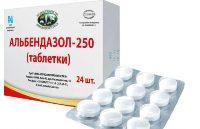 Альбендазол - таблетки для детей от глистов