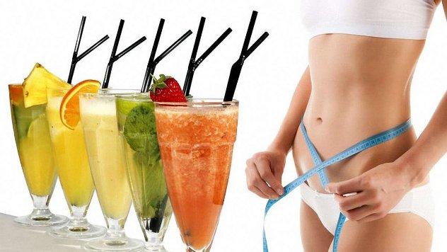 коктейли для похудения